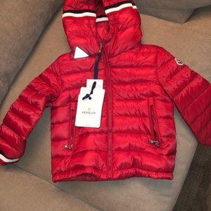 Brand new moncler coat for kids